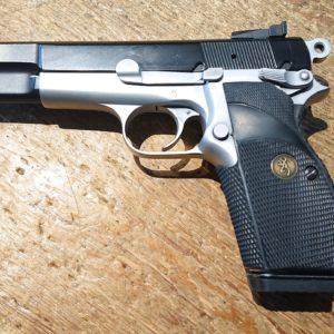 Beau pistolet Browning GP 35 calibre 9 x 19 grande capacité
