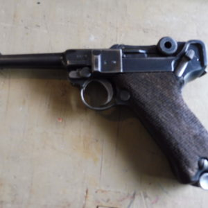 Pistolet semi-automatique P08 fabrication Erfurt de 1917