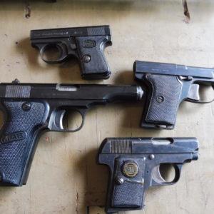 Pistolets à fort petit prix