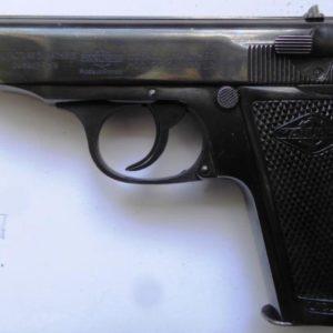 Splendide pistolet Walther Manurhin type PP calibre 22LR