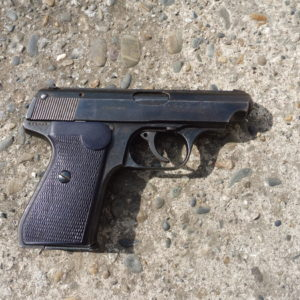 Pistolet Sauer und sohn M 38 calibre 7,65