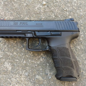 Pistolet Allemand HK (Heckler und koch) modèle P 30 L calibre 9 x 19
