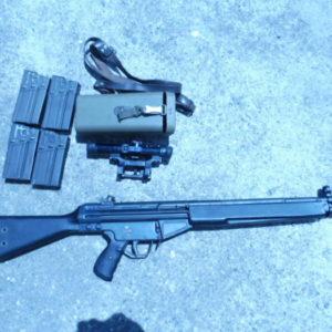 Fusil semi automatique G 3 calibre 308 w