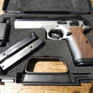 Splendide pistolet d'occasion CZ 75 TACTICAL SPORT DUALTONE