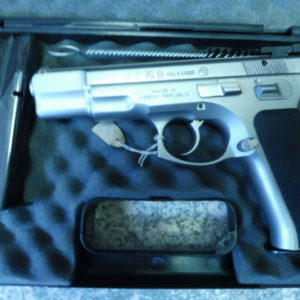 Pistolet semi automatique CZ 75 B calibre 9 X 19