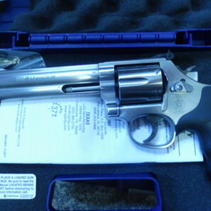 Revolver Smith et Wesson 686 calibre 357 Magnum