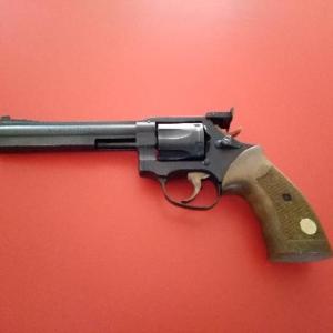 Annonce client: Vends revolver Manurhin Mr 38 match 5 pouces 3/4