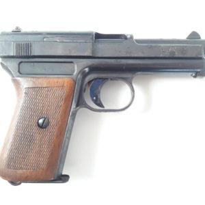 Rarissime variante très précoce de pré série de Mauser  1914 calibre 7,65 Browning