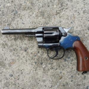 Rare revolver Colt Army Special modèle 1905