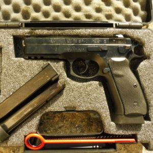 Pistolet CZ 75 SP 01 occasion calibre 9 X 19