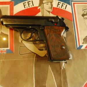 Pistolet Walther PPK calibre 7,65