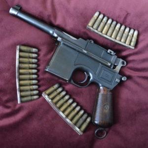 Splendide pistolet Mauser C 96 type Bolo
