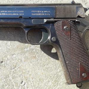Rare pistolet Colt type 1911