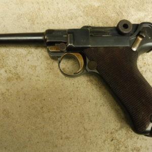 Superbe P 08 mono matricule 1ere guerre