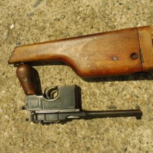 Pistolet Mauser C 96 calibre 7,63 X 25