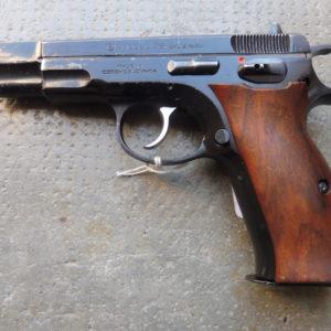 Pistolet CZ 75 fabriqué en 1987