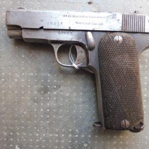 Pistolet Franco-Espagnol Ruby
