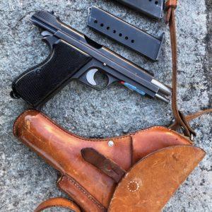 Pistolet SIG P210 militaire Suisse cal 9×19