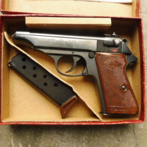 Joli pistolet Walther Manurhin PP calibre 7,65