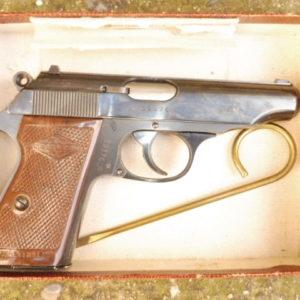 Pistolet Walther Manurhin PP calibre 22LR