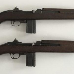 Lot de carabines USM1 fabriquées chez UNDERWOOD et chez STD PROD