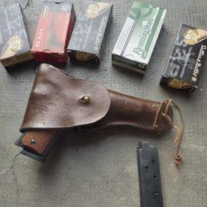 Beau pistolet calibre 45 ACP bronzé Colt Gold Cup National Match Serie70 MKIVbronzé