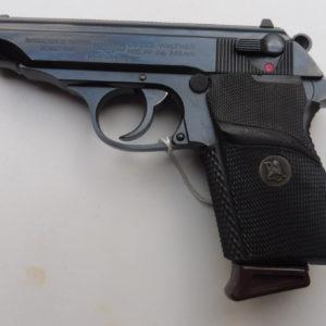 superbe pistolet semi automatique en double action Walther PP calibre 7,65
