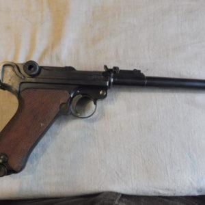 Splendide pistolet P08 artillerie calibre 9 x19fabrication DWM en 1918