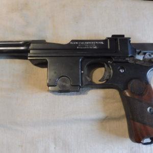 Rare pistolet Bergmann-Bayard modèle 1908 fabrication Pieper calibre 9 mm Bergmann (9 X 23)