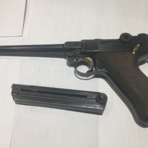 Rare pistoletP 08 marine DWM de 1917