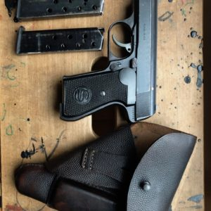 Rare variante tardive d'un pistolet semi-automatque Sauer & Sohn 38H calibre 7,65