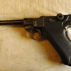 Superbe pistolet Parabellum version 1906 calibre 9 x19
