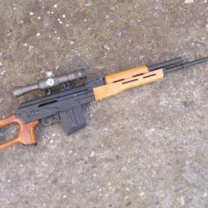 Fusil semi-automatique de tir de précision PSL fabrication Roumaine