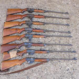 Lot de carabines semi-automatiques uniques X 51 bis calibre 22LR