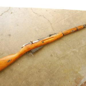 Belle carabine Mosine-Nagant modèle 1938 calibre 7,62 x 54R trés bon canon fabrication de guerre (1944)