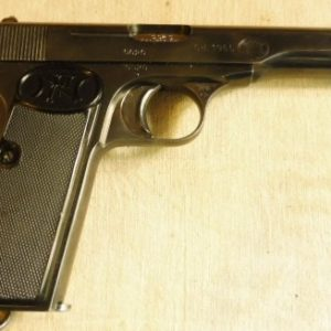 Intéressantpistolet calibre 7,65 Browning 1910/22 fabrication soignée