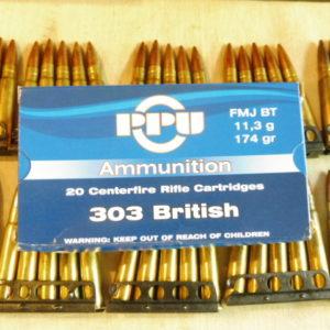 Lames chargeur d'origine pour fusil Lee-Enfield calibre 303 British