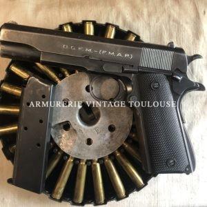 Arme construite sur le modèle exact d'un Colt 1911 A1 en calibre 45 ACP dit modèle 1927