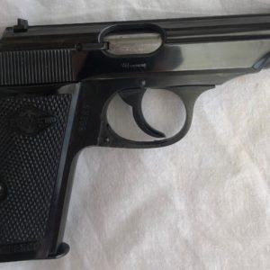 """Pistolet semi-automatique Walther Manurhin modèle PP calibre 7,65 catégorie """"B""""1"""