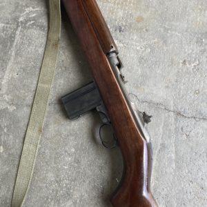 """Belle carabine U.S.M1 fabrication Saginaw, canon  """"Underwood""""  de septembre 1943"""