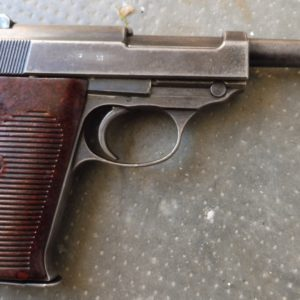 """Pistolet semi automatique calibre 9 x 19 Walther P 38 fabrication de guerre code """"ac"""""""