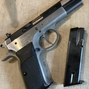 Superbe pistolet tout acier bicolore calibre 9 x 19 Springfield ArmoryP 9ultra IPSC