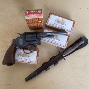 Revolver Smith & Wesson K38/200 issu des parachutesà la résistance en 1943/44